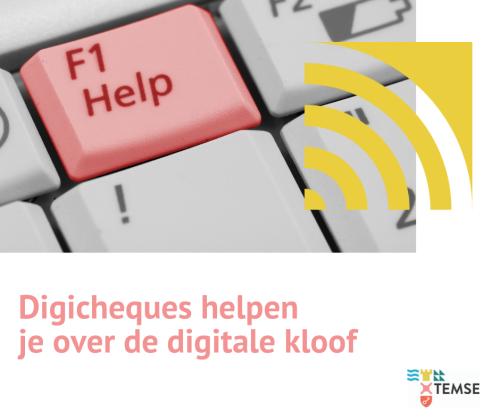 Digicheques helpen je over de digitale kloof